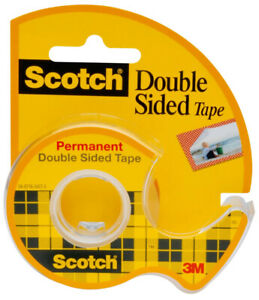 3M-Scotch-Double-Sided-Tape-1-2-034-Wide-Photo-Safe-137-Permanent-Double-Stick