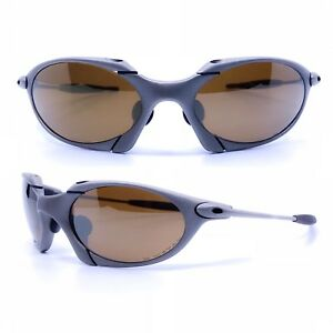 b9ac861685a Image is loading GLASSES-OAKLEY-ROMEO-1-MISSION-IMPOSSIBLE-VINTAGE- SUNGLASSES-
