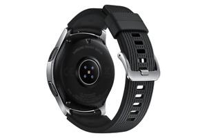 Samsung Galaxy Watch SM-R800 46mm Silver Case Classic Buckle Onyx Black - Bluetooth