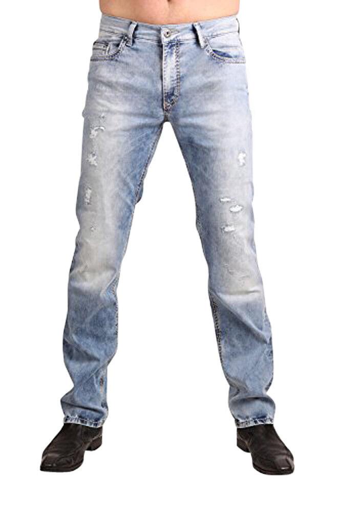 PIONEER Stretch Jeans RANDO 1654-9856-185 Bleached Used  | Verschiedene Stile und Stile  | Lebhaft  | Schönes Aussehen
