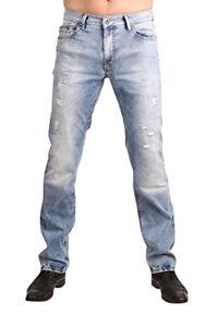 2019 Mode Pioneer Stretch Jeans Rando 1654-9856-185 Bleached Used Mit Den Modernsten GeräTen Und Techniken
