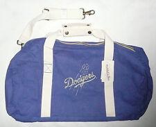 MLB LA DODGERS CANVAS BALL BAG Blue Mitchell & Ness Baseball Duffle  NEW