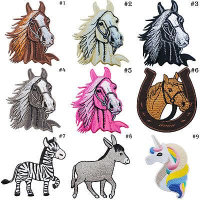 Unicorn Horse Rainbow Patch Iron on Bronco Pony Colt Twilight Stud Stallion Pony