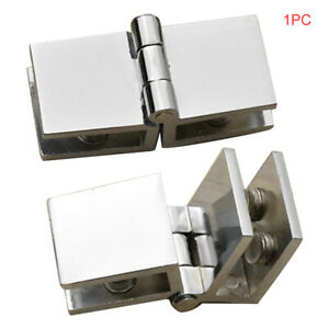 Bathroom Shower Glass Door Hinges Hardware Cabinet Cupboard Clamp Hinge Ebay