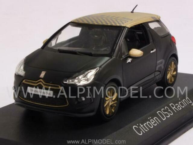 Citroen DS3 Racing 2013 Black with Gold deco 1:43 NOREV 155288