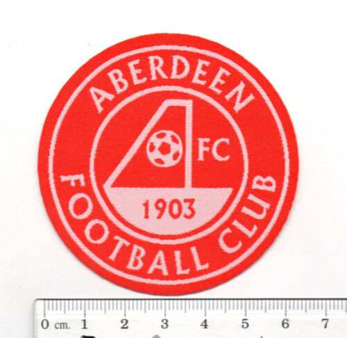 SCOTLAND ABERDEEN les dons Soccer Football Club iron-on Brodé Patch insigne