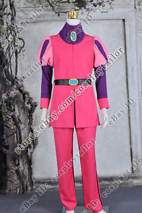 Prince Gumball Cosplay Prince Costume Pink Uniform Outfit High Quality Halloween