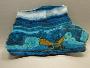 Chrysocolla-Malachite-4-inch-Polished-Gemstone-Slab-Rock-Stone-Arizona-3