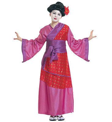 La Cina Girl Child/'s Fancy Dress Costume Deluxe Kimono cinese di qualità