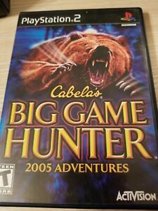 CABELA-039-S-BIG-GAME-HUNTER-2005-PS2-PLAYSTATION-2-DISC-ONLY-TESTED-FAST-SHIP