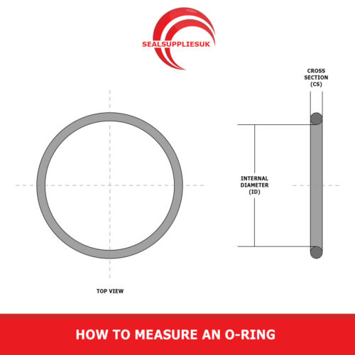 Metric Nitrile Rubber O Rings NBR 10mm Cross Section 42mm-380mm ID O Rings