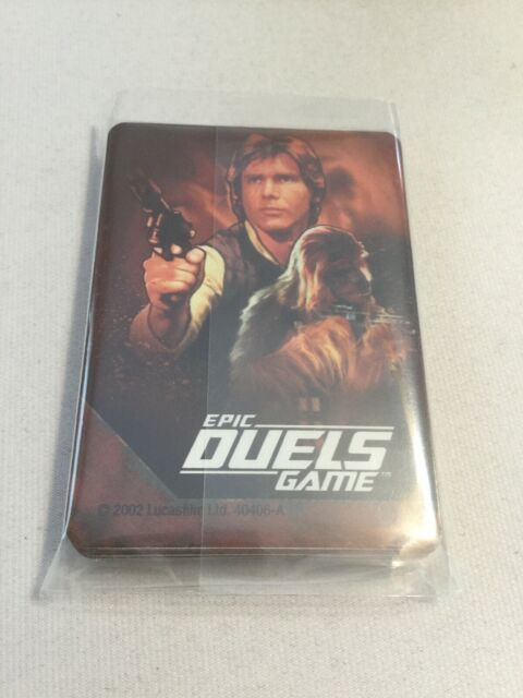 2002 Star Wars Epic Duels Board Game SW Epic Duels Han Solo 30/31 Cards
