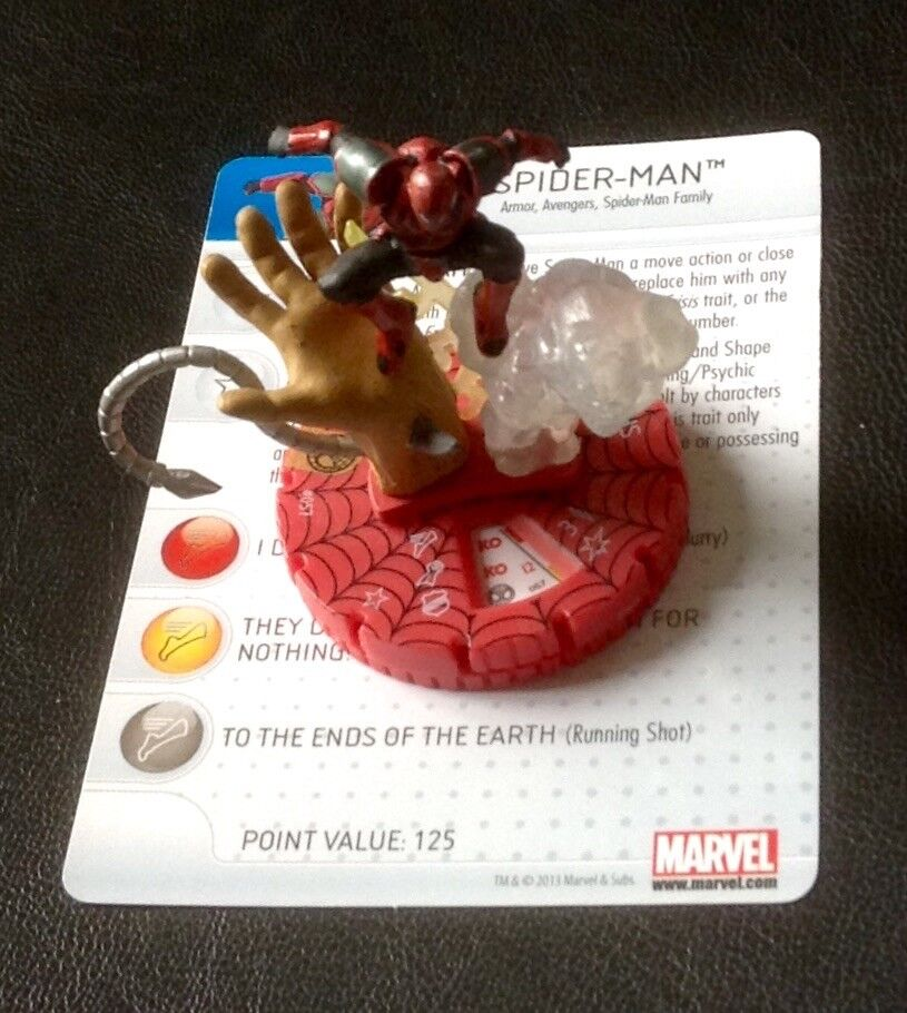 Heroclix Amazing spider-man ends of the earth Chase super rare SR unused
