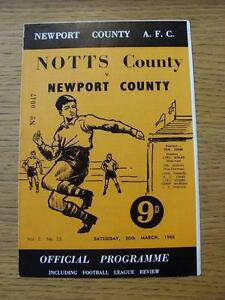 30031968 Newport County v Notts County - <span itemprop=availableAtOrFrom>Birmingham, United Kingdom</span> - Returns accepted within 30 days after the item is delivered, if goods not as described. Buyer assumes responibilty for return proof of postage and costs. Most purchases from business s - Birmingham, United Kingdom