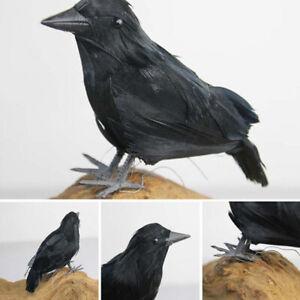 Accesorios-de-fiesta-Blackbird-Cuervo-de-Halloween-Cuervo-Cuervo-simulado