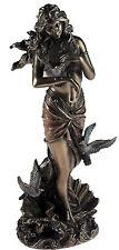Aphrodite Goddess Of Love Large 28cm Bronze Effect Figurine Ornament