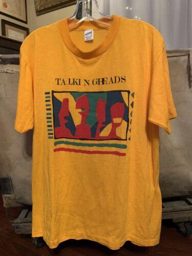 Talking Heads Vintage Shirt RARE Speaking In Tongu