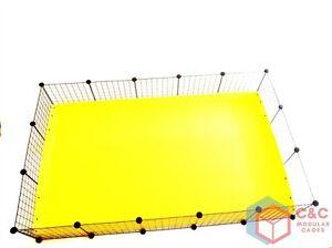 Cage 5x3 Big Cage de Guinée: Panneaux Connecteurs X16 Plateau Correx X32 inclus