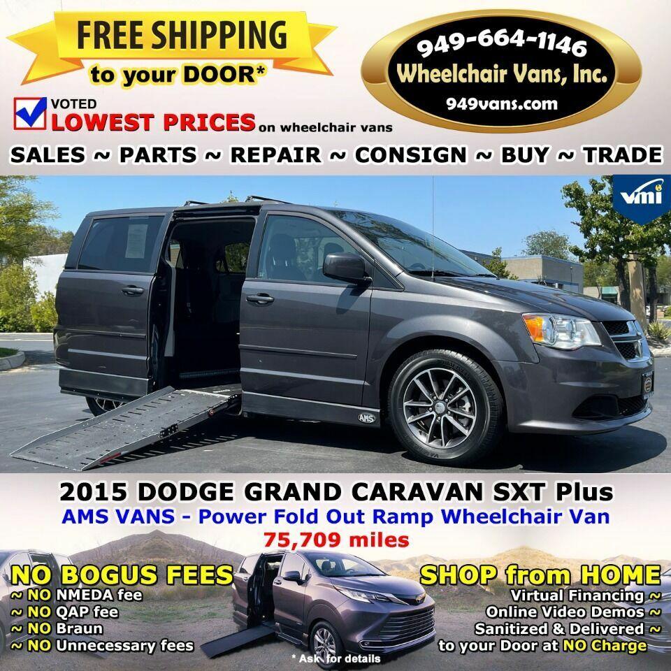 2015 Dodge Grand Caravan SXT Plus 4dr Mini Van