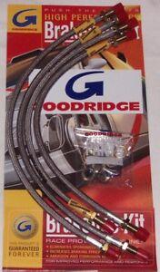 Goodridge-Brake-Hose-Set-Pour-TRIUMPH-SPITFIRE-72-80-ABK1006