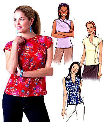 BUTTERICK 3895 OOP Misses/' Blouses 6 Sew Easy 6-10