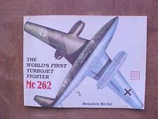 Messerschmitt Me 262 Turbojet Fighter aviation book Schiffer Military History