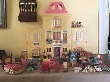 FISHER PRICE H3370-2129 Loving Family Grand Mansion Dollhouse Plus Accessories