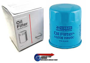 Genuine Nissan Oil Filter 15208-H890C - For WC34 Stagea Series 1 RS4 RB25DET