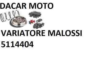 5114404 VARIATOR MALOSSI MULTIVAR 2000 MALAGUTI KLAPPE MASTER 200 4T