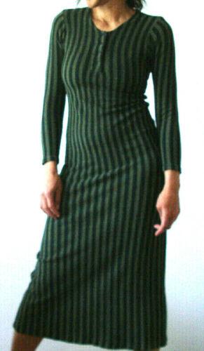 Vintage MARIMEKKO Suomi dress 70's Army green / Bl