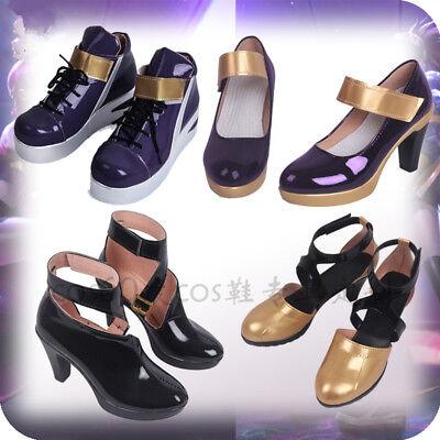 LOL KDA Akali Cosplay Shoes K//DA Akali Shoes For Women  Hot Game  MM.2092