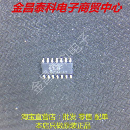 5pcs MCP6024 MCP6024-E//SL SOP-14 Rail-to-Rail Input//Output 10 MHz Op Amps