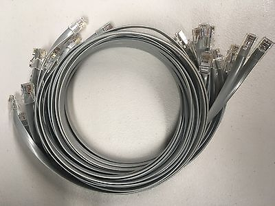 RJ-45 to RJ-45 Rollover Cable for Cisco 2511-RJ 2509-RJ 3ft 6ft 9ft 10ft 15ft 25