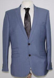 Blazer Blue Light 40r Men's Fellini 1252 Suit Sample awPBSq