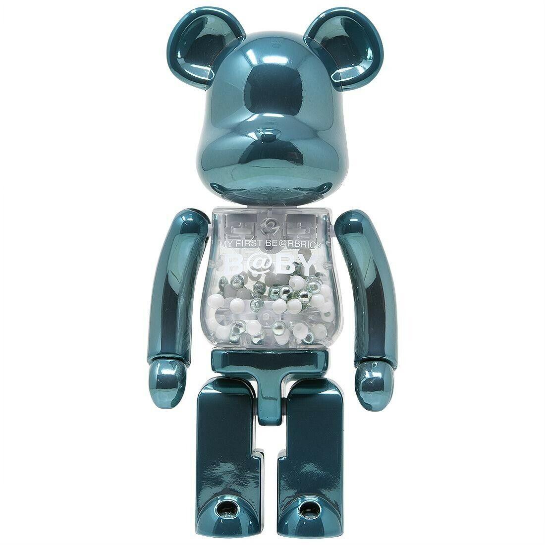 Medicom BE@RBRICK 200% Super Alloyed My My My First Bearbrick Baby Turquoise Figure f8e