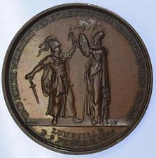 Napolonic wars - 1801 The Peace of Luneville medal by Loos