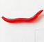 50Pcs Simulation Earthworm Worms 40mm Artificial Fishing Lures Tackle Soft Baits