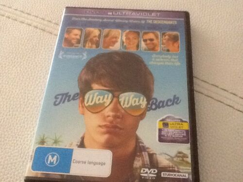 1 of 1 - The Way Way Back DVD Region 4 Used But Very Near New Expired UV Code