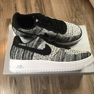 Nike Air Force 1 Flyknit 2.0 Black Pure