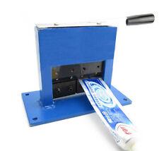 Manual Aluminium Tube Crimping & Sealing Machine Toothpaste Ointment Tube Sealer