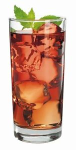 NEW-Anchor-Hocking-Heavy-Base-Highball-Drinking-Glasses-15-oz-Set-of-12