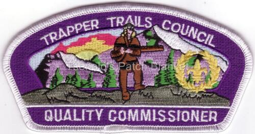 Trapper Trails SA-25b 2002 Quality Commisioner Yellow Wreath Csp Mint FREE SHIP