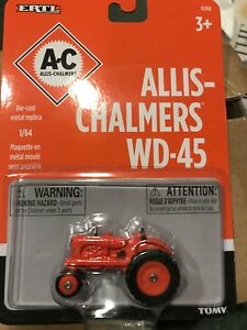 Allis-Chalmers AGCO WD-45 NARROW FRONT TRACTOR 1:64 SCALE