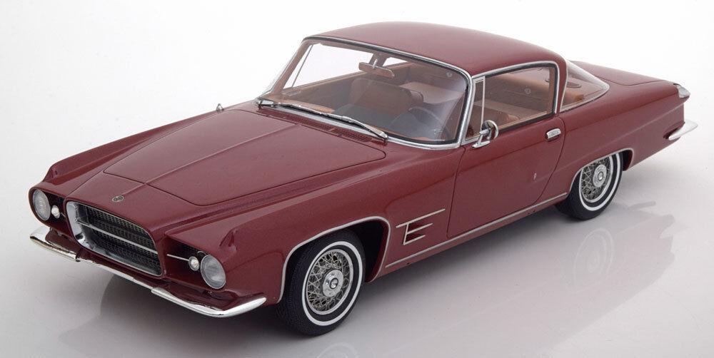 hasta un 70% de descuento 1960 Chrysler Doble Doble Doble Ghia L6.4 Hardtop Coupé por Bos Modelos Le de 504 1 18 Nuevo  precioso