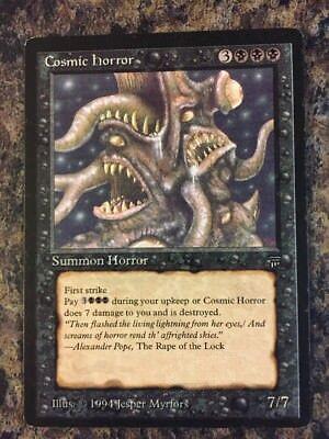 MTG cosmic horror X1  legends LP Bicaboys