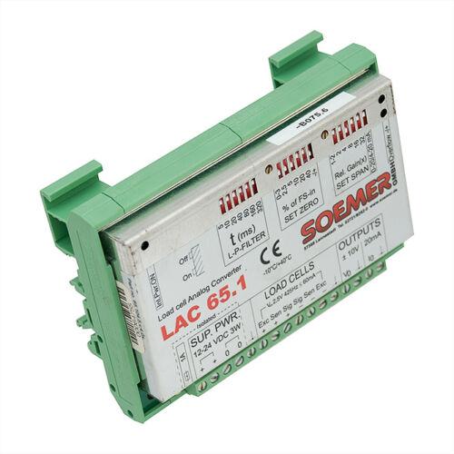 Soemer lac 65.1 universal load cell amplifier module messverstärker