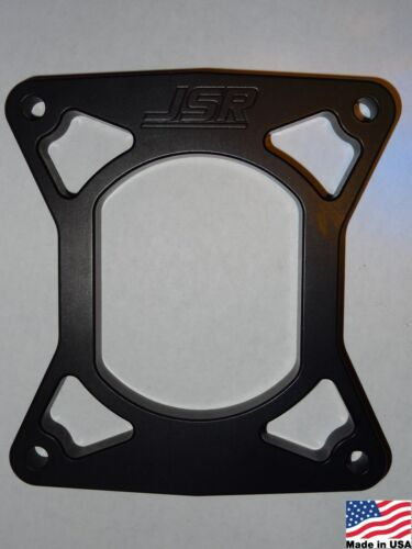 """96-04 Ford Mustang GT 4.6 Black Aluminum 1//2/"""" Plenum to Intake Spacer PLATEONLY"""