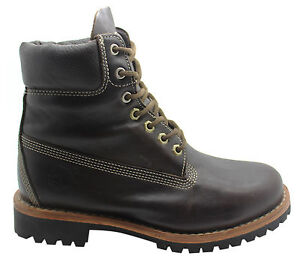 Image Is Loading Timberland Earthkeepers Heritage Rugged Mens Boots Brown Leather