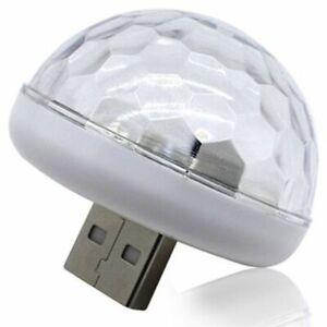 Multi-Color-LED-de-iluminacion-interior-coche-USB-Kit-de-luces-LED-de-Neon-atmosfera-lamparas-F2L-1I