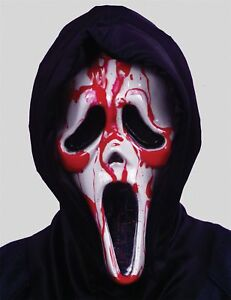 Bleeding Ghost Face Scream Mask Scary Halloween Masks | eBay